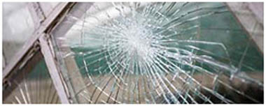 Carlton Smashed Glass